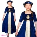Tudor Princess (Blue) - Kids Costume