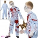 Zombie Pyjama Boy - Kids Costume