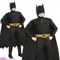 BATMAN ~ The Dark Knight Rises Deluxe - Kids Costume