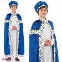 Deluxe Blue King or Wise Man - Kids Costume