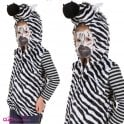 Zebra Zip Top - Kids Costume