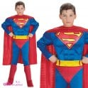 SUPERMAN ~ (Muscle Chest) - Kids Costume