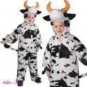 Cow with Horns - Kids Costume
