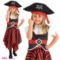 Raggy Pirate Girl - Kids Costume
