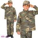 Action Commando - Kids Costume