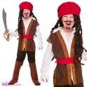 Caribbean Pirate - Kids Costume