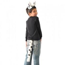 Dalmatian Ears & Tail - Kids Accessory