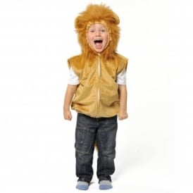 Lion Zip Top - Kids Costume
