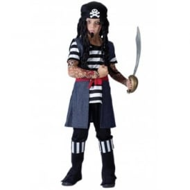 Tattooed Pirate - Kids Costume
