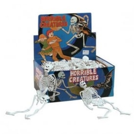 "12"" White PVC Skeleton - Accessory"