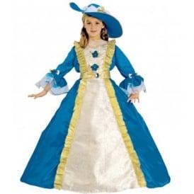Royal Blue Princess - Kids Costume