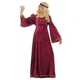 Giulietta (Juliet) (Burgundy) - Kids Costume