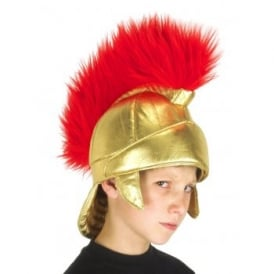 Roman Fabric Helmet - Kids Accessory