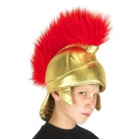 Roman Fabric Helmet - Kids Accessory