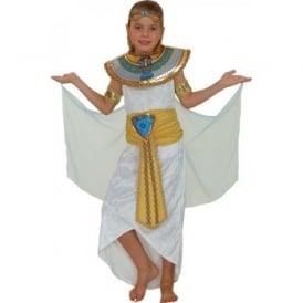 White Princess Cleopatra - Kids Costume