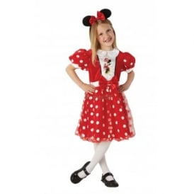 ~ Minnie Mouse (Red Glitz) - Kids Costume