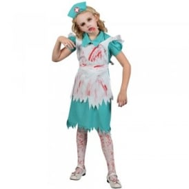 Child Zombie Nurse - Kids Costume