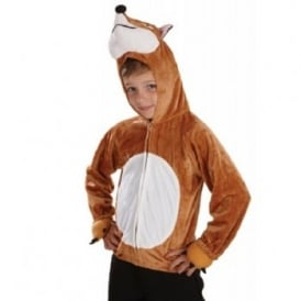 Fox Hooded Top - Kids Costume