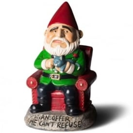An Offer He Can't Refuse Garden Gnome - Ornament