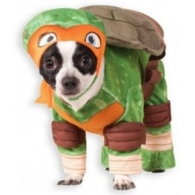 Michelangelo TMNT Dog Costume - Pet Accessory
