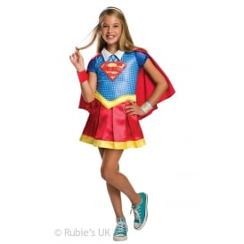 ~ Supergirl Deluxe (DC Comics Superhero) - Kids Costume