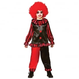Evil Clown - Kids Costume