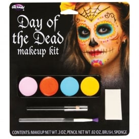 Day of The Dead Make-Up Kit (Female) - Accessory