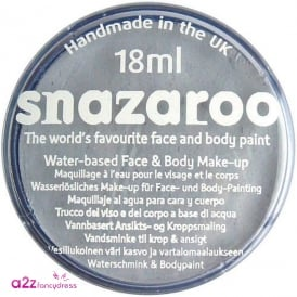 Light Grey Face And Body Paint (Snazaroo™) - Accessory
