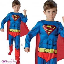 ~ Superman Classic Comic Book - Kids Costume