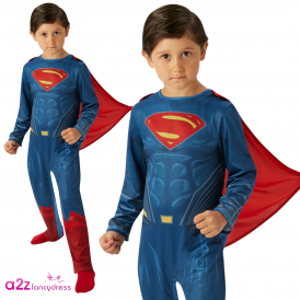 ~ Batman V Superman Dawn Of Justice ~ Superman Classic - Kids Costume