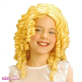 Angel or Goldilocks Wig - Kids Accessory