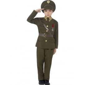 Army Officer - Kids Costume