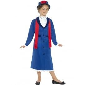 Victorian Nanny - Kids Costume