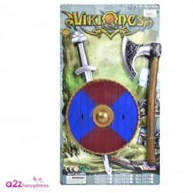 Viking Sword Shield And Axe Set – Accessory