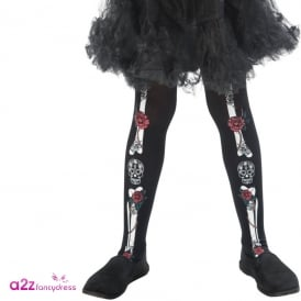 Day of the Dead Tights - Kids Accessory