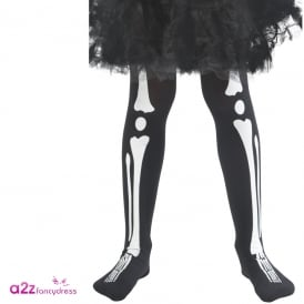 Skeleton Tights - Kids Accessory