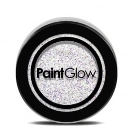 White Loose Glitter - Make-up Accessory