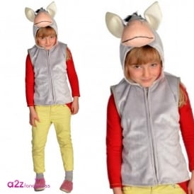 Donkey Zip Top - Kids Costume