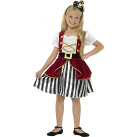 Deluxe Pirate Girl - Kids Costume