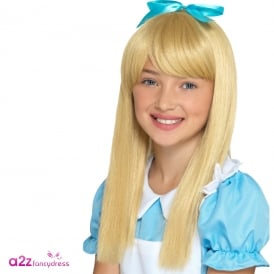 Wonderland Princess Wig - Kids Accessory