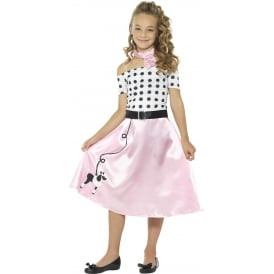 50s Poodle Girl - Kids Costume