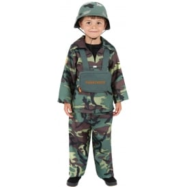 Army Boy - Kids Costume
