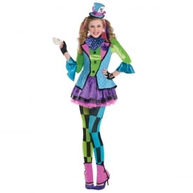 Sassy Mad Hatter - Teen Costume
