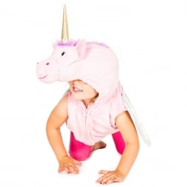 Unicorn Zip Top - Kids Costume