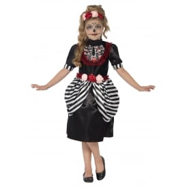 Sugar Skull - Kids Costume
