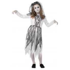 Ghostly Bride - Kids Costume