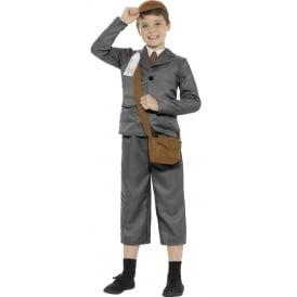 WW2 Evacuee Boy - Kids Costume