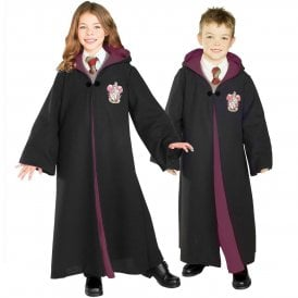 ~ Deluxe Gryffindor Robe - Harry Potter or Hermione Granger - Kids Accessory