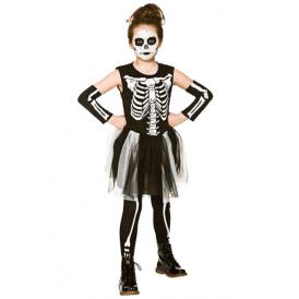 GIRLS Skelebones - Kids Costume