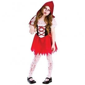 Lil Zombie Riding Hood - Kids Costume